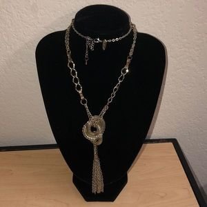 Beautiful necklace. With gold detailing.